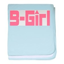 B-Girl baby blanket