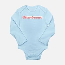 Barbecue Long Sleeve Infant Bodysuit