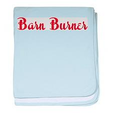 Barn Burner baby blanket