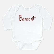 Bearcat Long Sleeve Infant Bodysuit