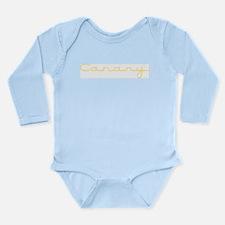 Canary Long Sleeve Infant Bodysuit