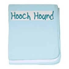 Hooch Hound baby blanket
