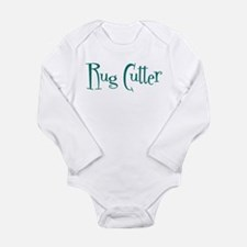 Rug Cutter Long Sleeve Infant Bodysuit