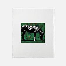 Zebra Throw Blanket