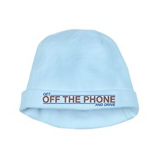 Get Off the Phone baby hat
