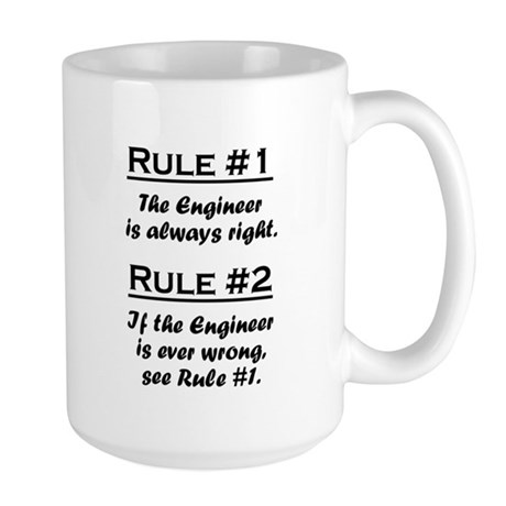 Engineer Large Mug