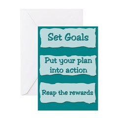 Goals Greeting Card
