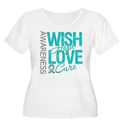 PCOS Wish Hope Cure T-Shirt