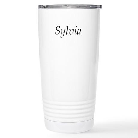 Sylvia Stainless Steel Travel Mug