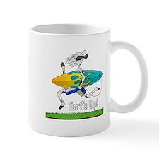 Turf's Up! (Yellow) - Mug