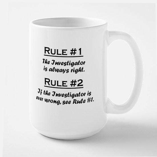 Investigator Large Mug