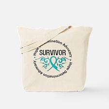 PCOS Survivor Tribal Tote Bag