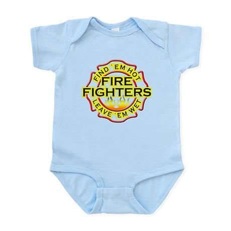 Firefighters, Hot! Infant Bodysuit