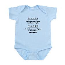 Insurance Agent Infant Bodysuit