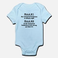 Industrial Technician Infant Bodysuit