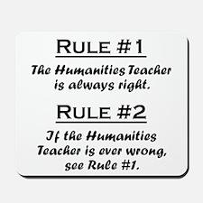 Humanities Teacher Mousepad