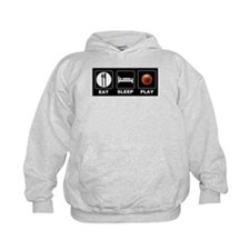 Eat Sleep Play Basketball Hoodie
