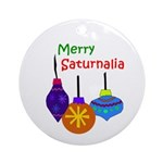 Merry Saturnalia Yule Tree Ornament