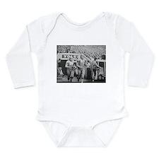 Cute Tennessee vols Long Sleeve Infant Bodysuit