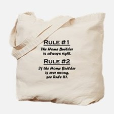 Home Builder Tote Bag