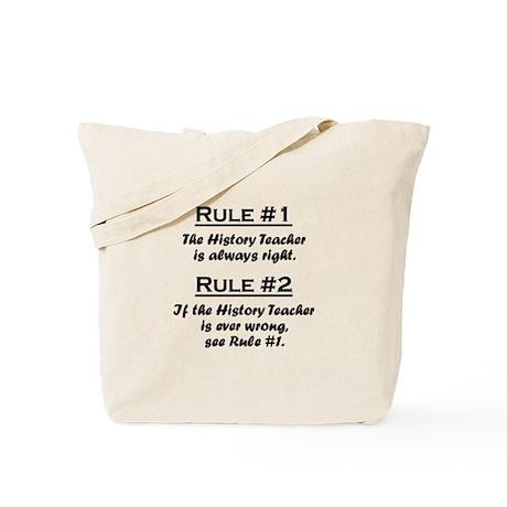 History Teacher Tote Bag