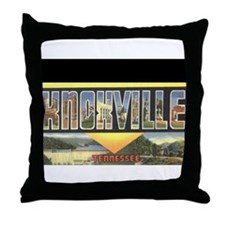 Cute Tennessee vols Throw Pillow