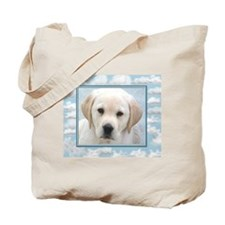 Lab Puppy Tote Bag