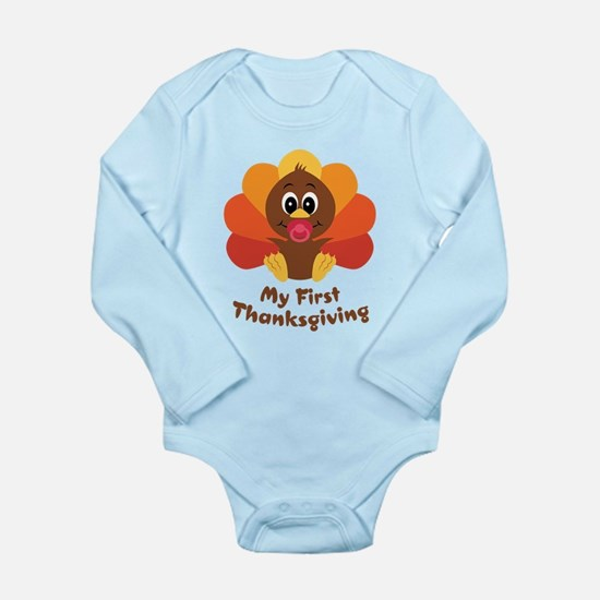 My 1st Thanksgiving Baby Outfits