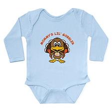 Mommy's Lil' Gobbler Long Sleeve Infant Bodysuit