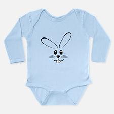 Rabbit Face Long Sleeve Infant Bodysuit