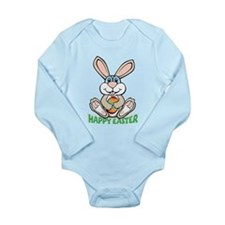 Happy Easter Long Sleeve Infant Bodysuit