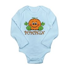 Pumpkin Long Sleeve Infant Bodysuit