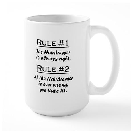Hairdresser Large Mug