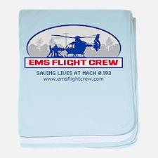 EMS Flight Crew - Rotor Wing baby blanket