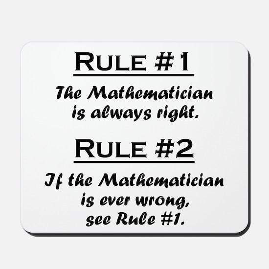 Mathematician Mousepad