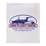 Fixed Wing EMS - King Air 200 Throw Blanket