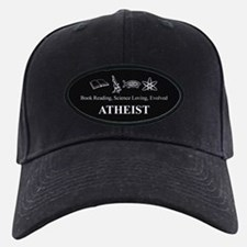 Book Science Evolved Atheist Baseball Hat