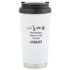 Book Science Evolved Atheist Travel Mug