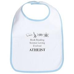 Book Science Evolved Atheist Bib
