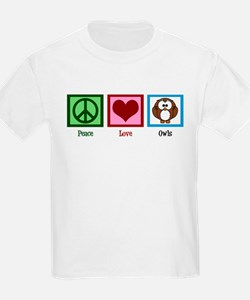 Peace Love Owls T-Shirt