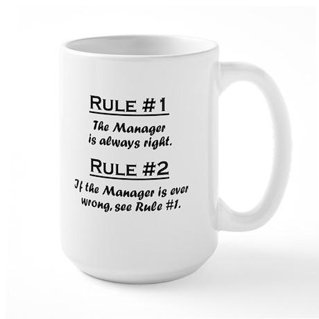 Rule Manager Large Mug