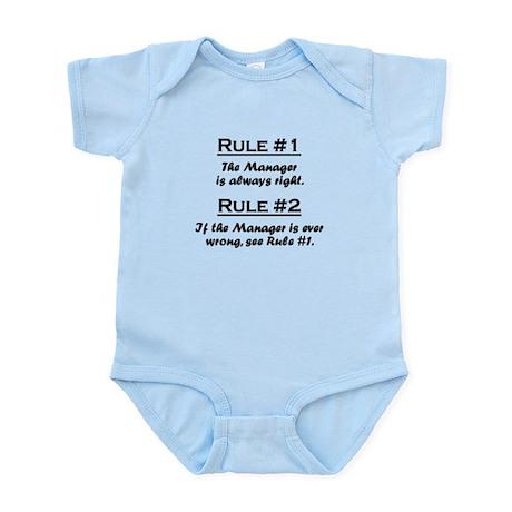 Rule Manager Infant Bodysuit