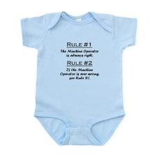 Machine Operator Infant Bodysuit