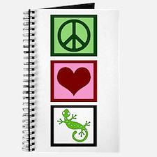 Peace Love Geckos Journal
