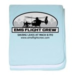 EMS Flight Crew - Rotor Wing baby blanket