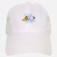 Sleep in Peace Baseball Baseball Cap