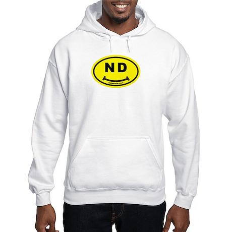 ND State Smile(TM) Hooded Sweatshirt