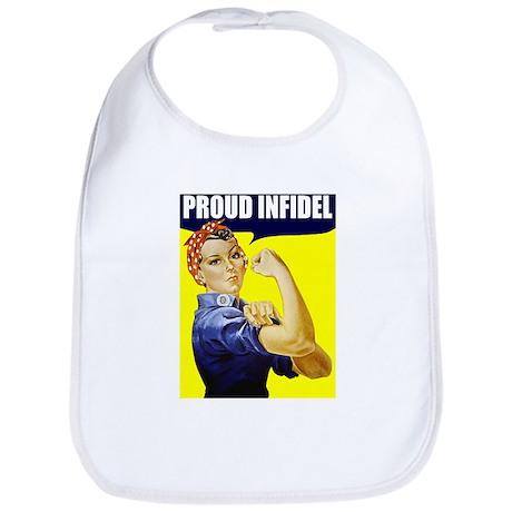 """Rosie """"Proud Infidel"""" Bib"""