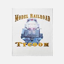 Funny Trainstuff Throw Blanket