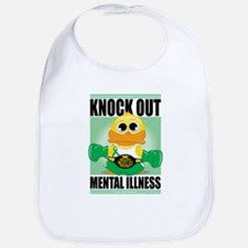 Knock Out Mental Illness Bib